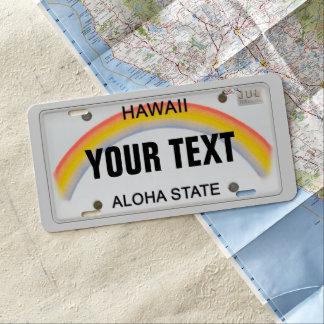 Hawaii-Kfz-Kennzeichen US Nummernschild