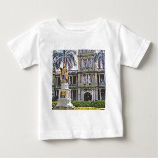Hawaii-König Kamehameha Modern Baby T-shirt
