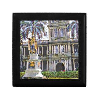 Hawaii-König Kamehameha Modern Geschenkbox