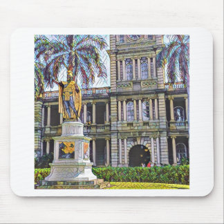 Hawaii-König Kamehameha Modern Mousepad
