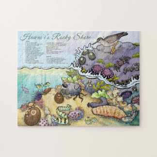 Hawaii-Küstenlinie-Identifizierung Puzzle