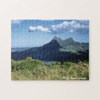 Hawaii-Landschaftsflora-hawaiisches Puzzle
