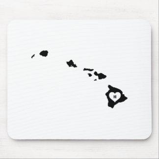 Hawaii-Liebe Mousepad