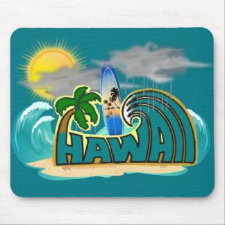Hawaii-Mausunterlage Mousepad