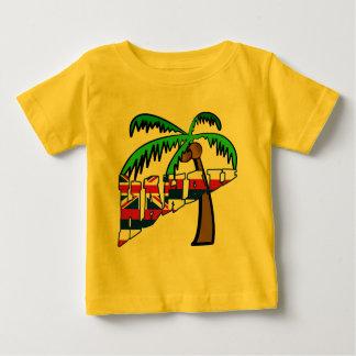 Hawaii mit Palme-Produkten Baby T-shirt