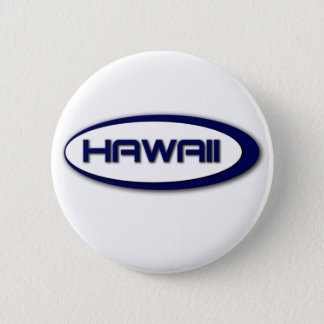 Hawaii-Oval-Knopf Runder Button 5,1 Cm