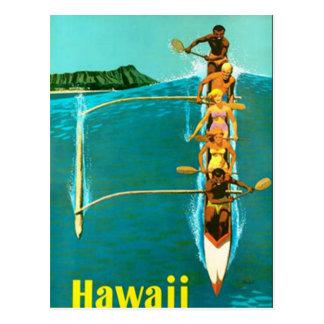 Hawaii-Postkarte Postkarte