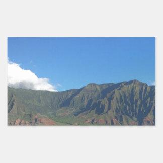 Hawaii Rechteckiger Aufkleber