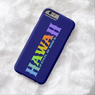 Hawaii-Regenbogen färbt iPhone Kasten Barely There iPhone 6 Hülle