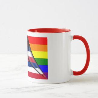 Hawaii-Regenbogen-Flagge Tasse