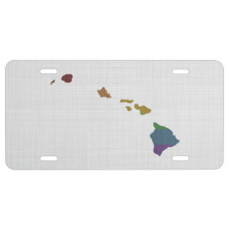 Hawaii-Regenbogen-Gay Pride US Nummernschild