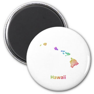 Hawaii Runder Magnet 5,7 Cm