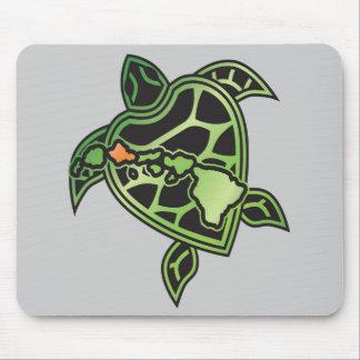 Hawaii-Schildkröte-Mausunterlage Mousepads
