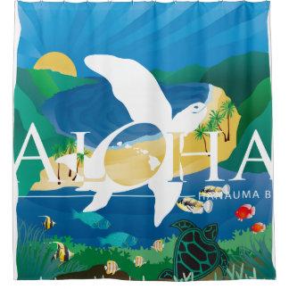 Hawaii-Schildkröte und Ozean 11 Duschvorhang