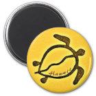 Hawaii-Schildkrötemagnet Runder Magnet 5,1 Cm