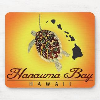 Hawaii-Schildkröten und Hawaii-Inseln Mousepads