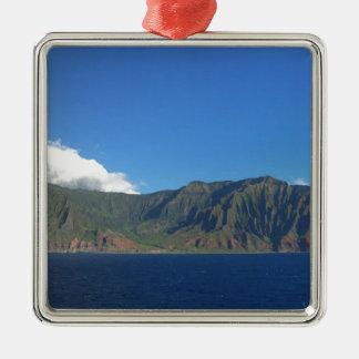 Hawaii Silbernes Ornament