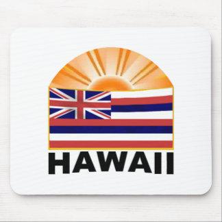 Hawaii-Sonnendurchbruch Mousepad