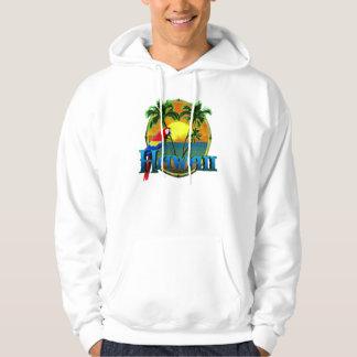 Hawaii-Sonnenuntergang Kapuzensweatshirts
