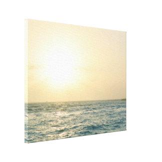 Hawaii-Sonnenuntergang Leinwanddruck