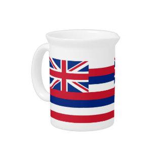 Hawaii-Staats-Flaggen-Krug Getränke Pitcher
