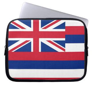 Hawaii-Staats-Flaggen-Laptop-Hülse Laptop Sleeve