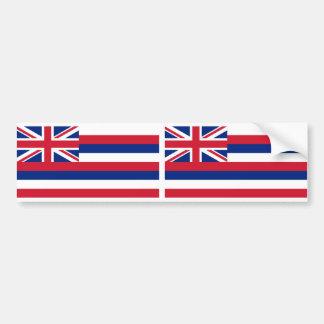 Hawaii-Staatsflagge Autoaufkleber