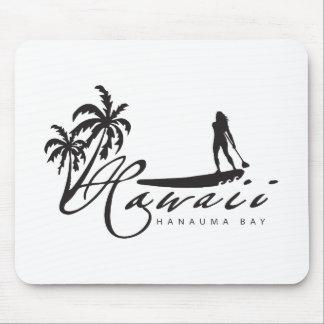 Hawaii stehen oben Paddel Mauspads