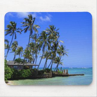 Hawaii-Strand-Haus Mauspad