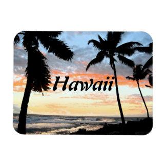 Hawaii-Strand-Palmen Magnet