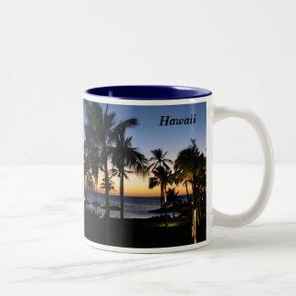 Hawaii-Tasse Zweifarbige Tasse