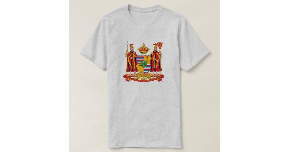 Hawaii wappen t shirt zazzle for Hawaii 5 0 t shirt