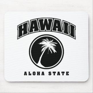HawaiiAloha Staat Mousepad