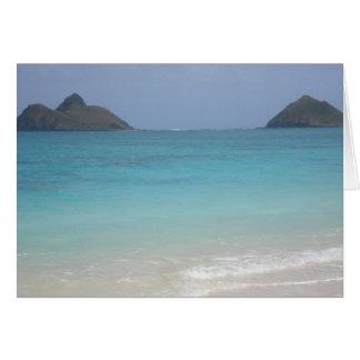 Hawaiis Lani Kai Strand Karte