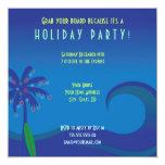 Hawaiische Brandungs-Feiertags-Party Einladung