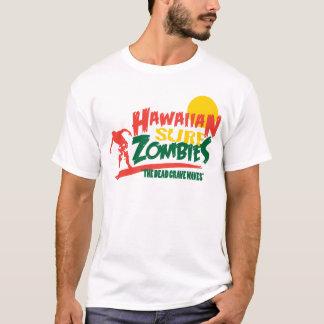 Hawaiische Brandungs-Zombies Rasta T-Shirt