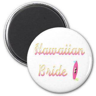 Hawaiische Braut Surfbrett