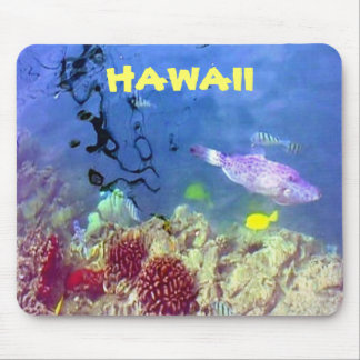 Hawaiische Fische Mousepad