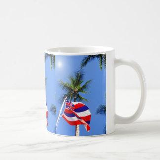 Hawaiische Flagge Kaffeetasse