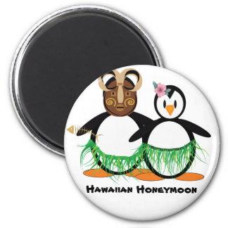 Hawaiische Flitterwochen Magnete