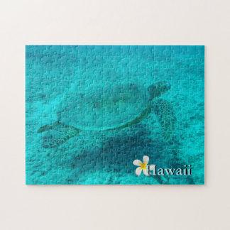 Hawaiische grüne Meeresschildkröte Puzzle