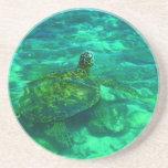 Hawaiische Honu Meeresschildkröte Untersetzer