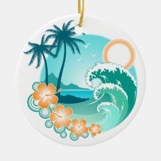 Hawaiische Insel 1 Keramik Ornament