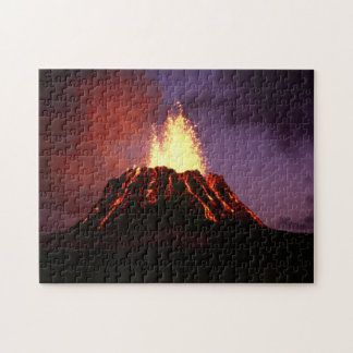 Hawaiische Insel-Vulkan Puzzle