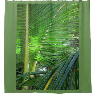 Hawaiische Kokosnuss-Palme Duschvorhang