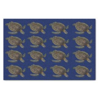 Hawaiische Meeresschildkröte Seidenpapier