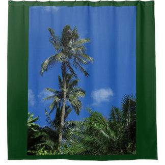 Hawaiische Palmen Duschvorhang