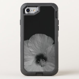 Hawaiische Träume in Schwarzweiss OtterBox Defender iPhone 8/7 Hülle