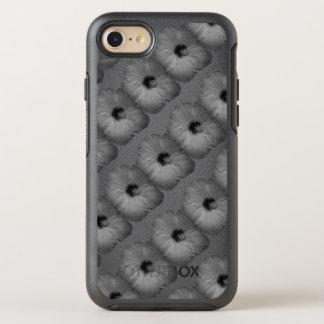 Hawaiische Träume in Schwarzweiss OtterBox Symmetry iPhone 8/7 Hülle