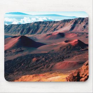 Hawaiische Vulkan-Krater-Felder Mousepads